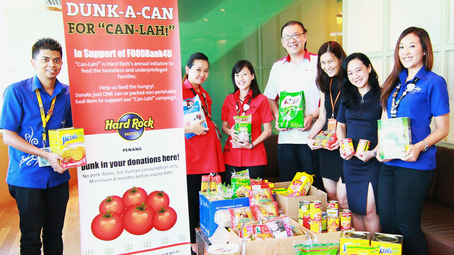 csr - Can Lah Food Donation - 11 Jan 2016