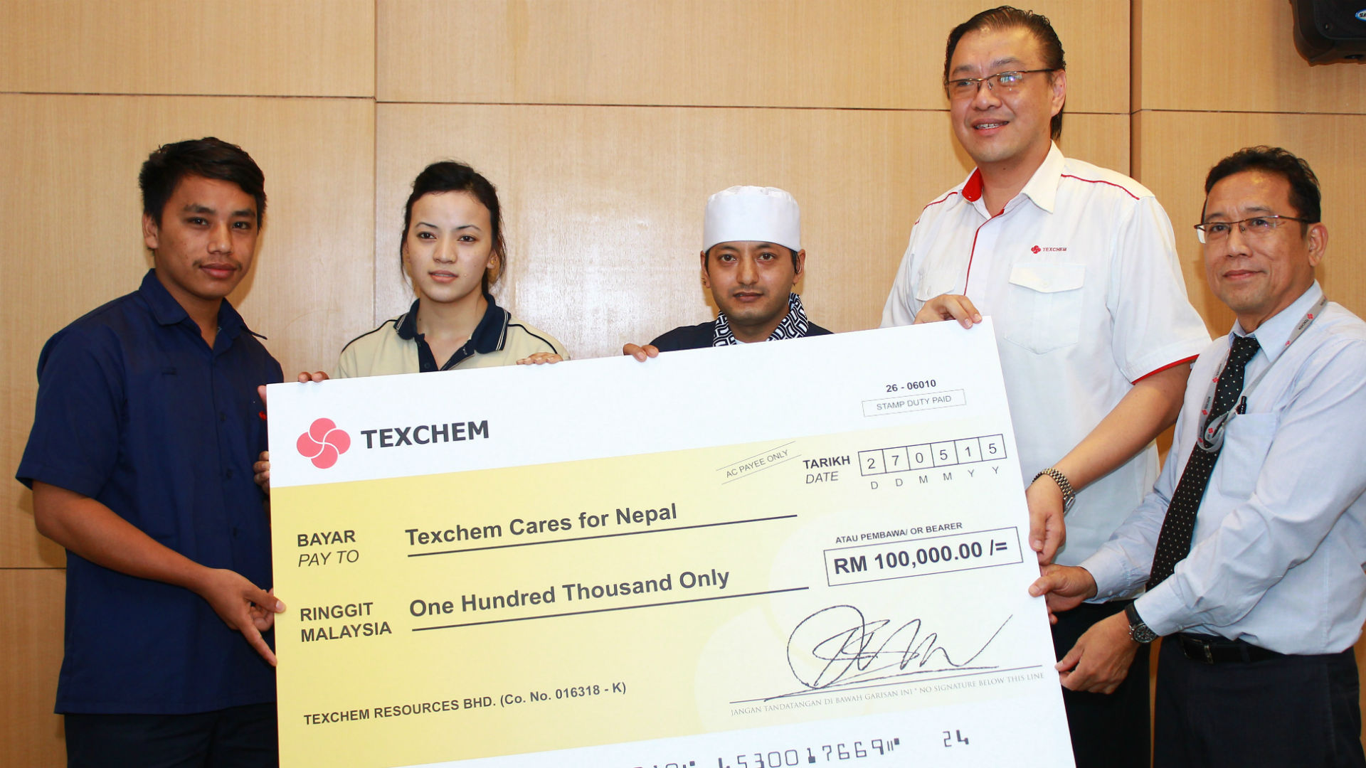 Texchem Cares for Nepal