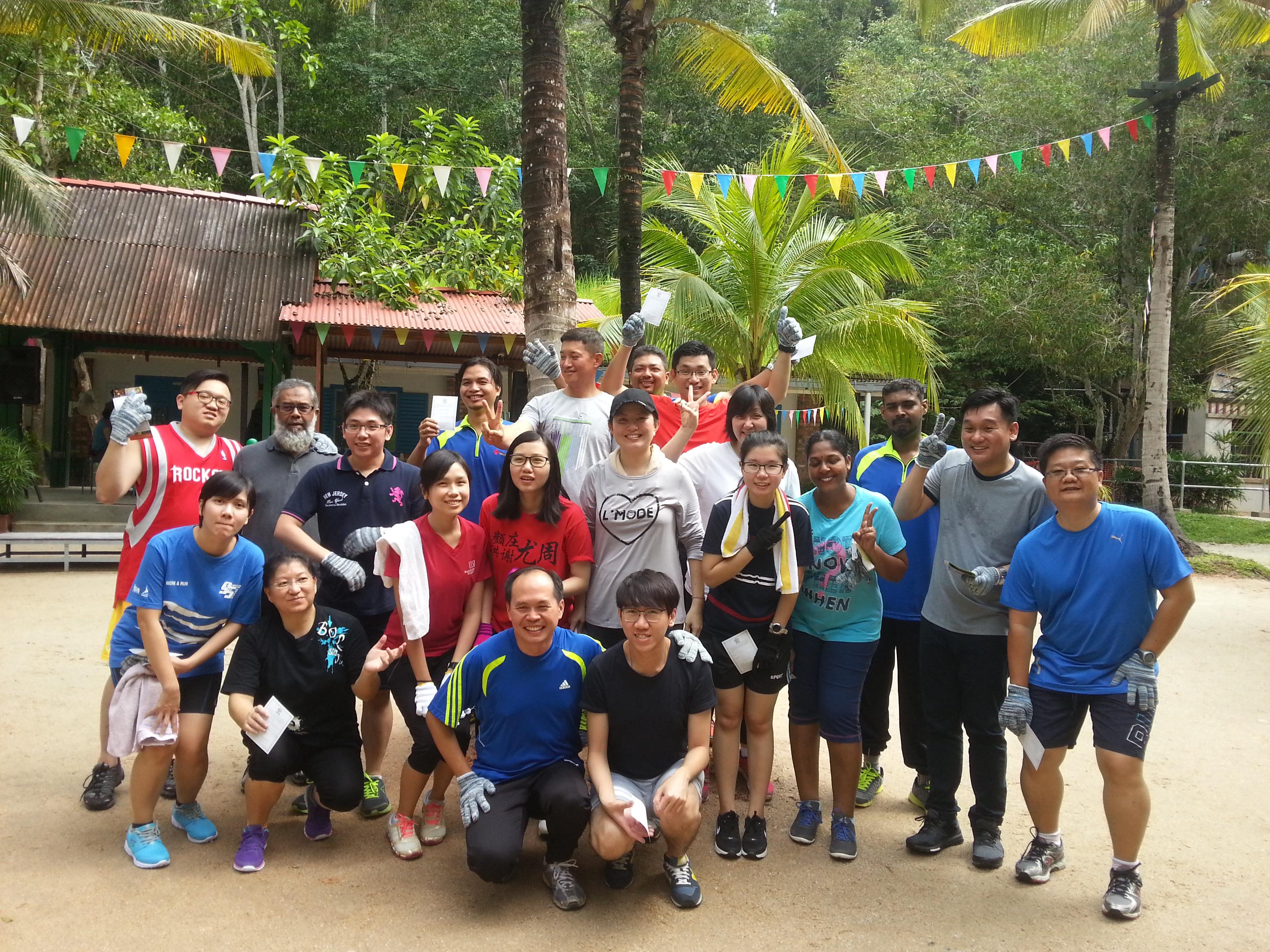 Texchem Materials Sdn Bhd's Teambuilding at Escape, Penang