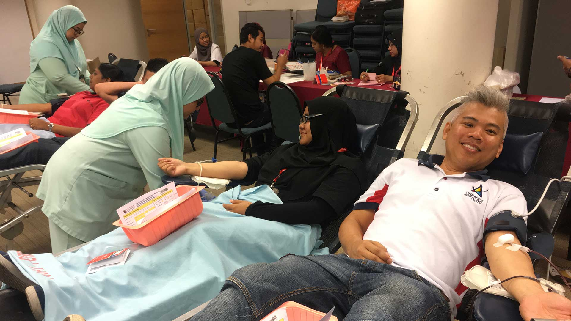 Blood Donation Drive at Central Region Office