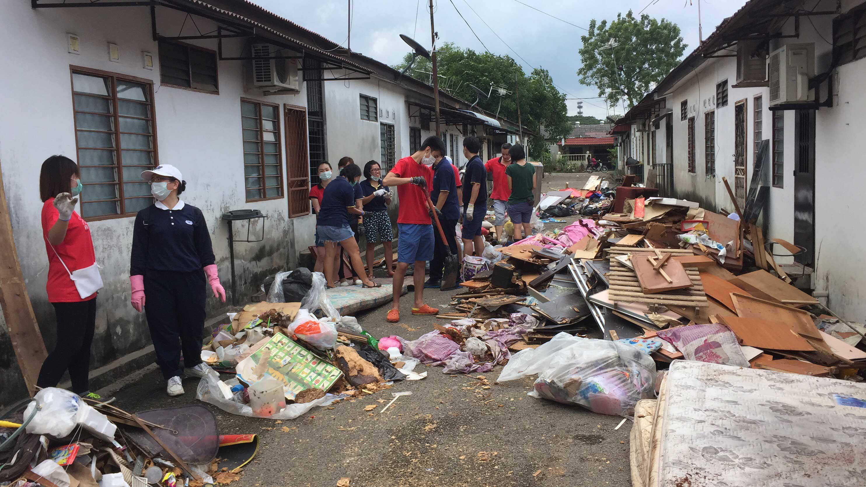 Penang Post Flood Clean-Up