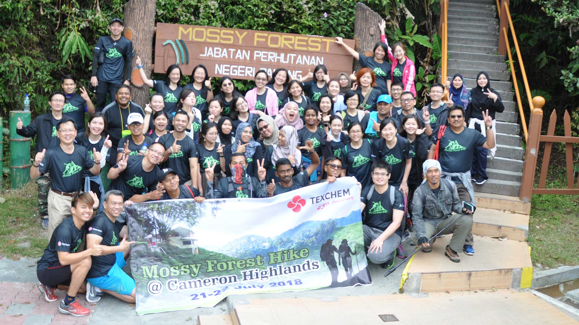 Texchem Mount Kinabalu Club – Hiking Trip to Mossy Forest, Cameron Highlands