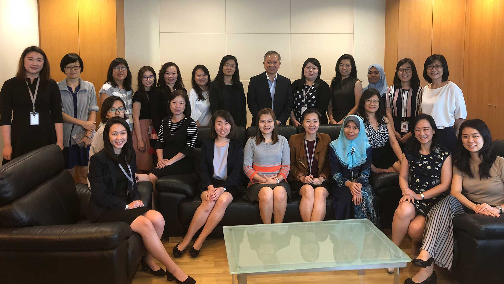 Texchem Ladies' Club – Quarterly Sharing Session by Group CEO Mr Yap Kee Keong