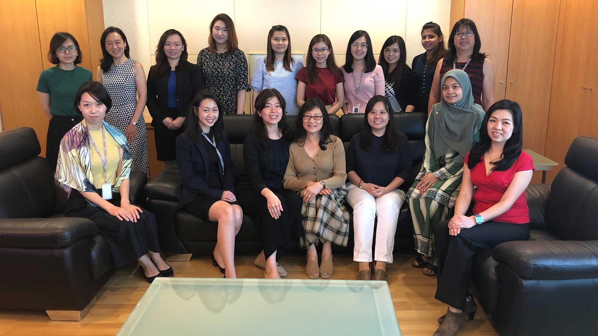 Texchem Ladies' Club – Quarterly Sharing Session with Dr Pun Meng Yan, Deputy MD of Texchem Polymers Sdn Bhd