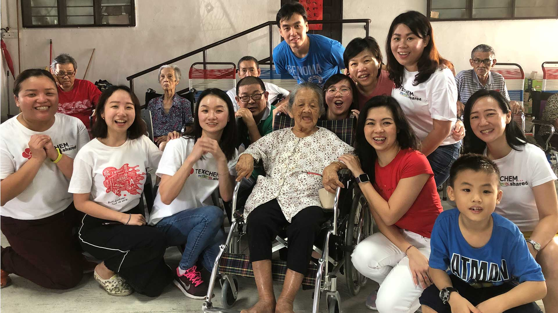 Texchem's Cultural Ambassadors' Visit to Peace and Harmony Home