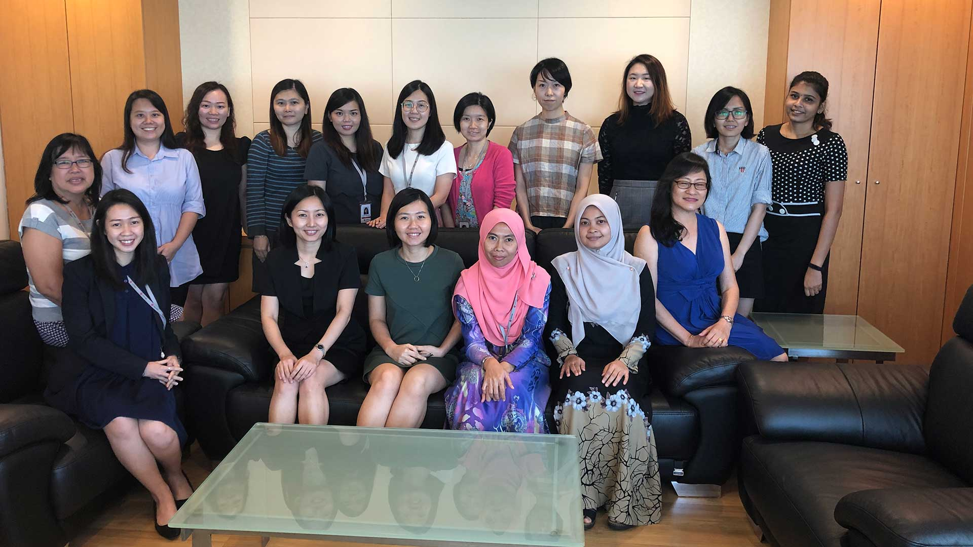 Texchem Ladies' Club – Quarterly Sharing Session with Ms Yew Yoke Fah