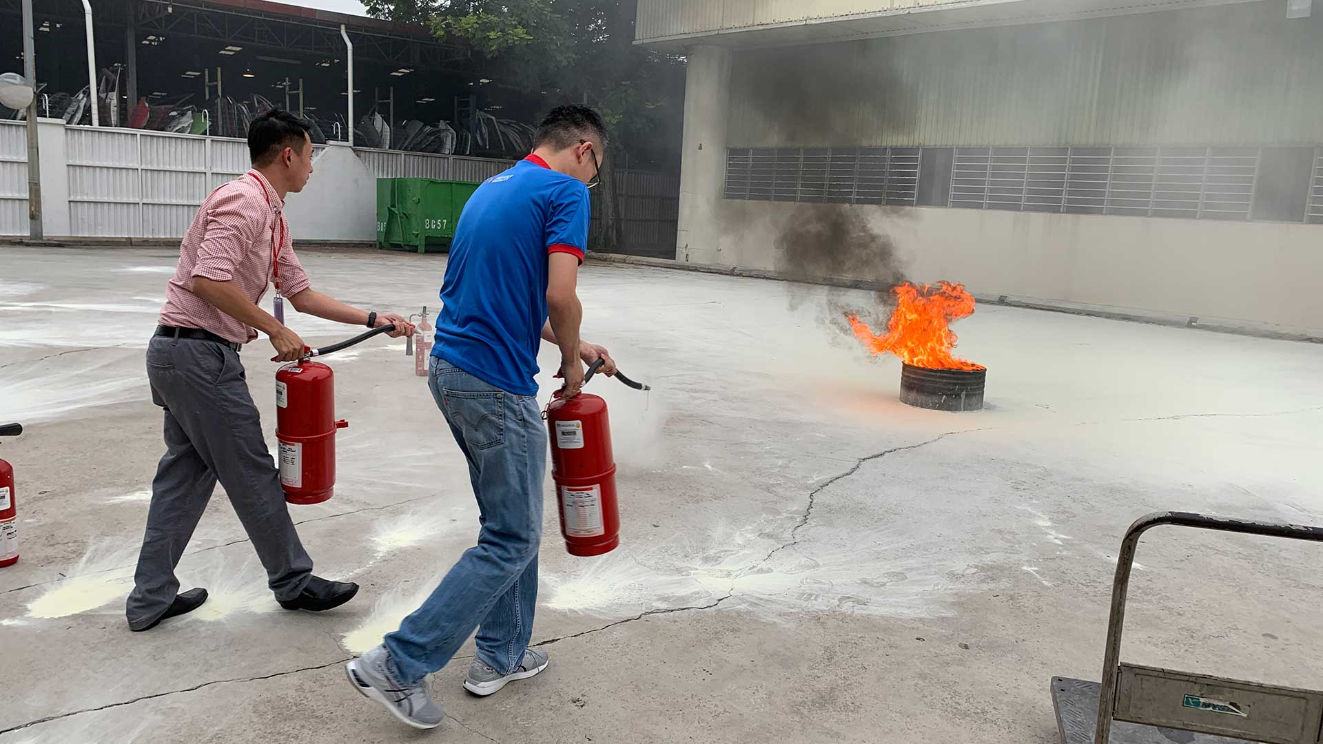 Fire Squad Training at Wisma Texchem