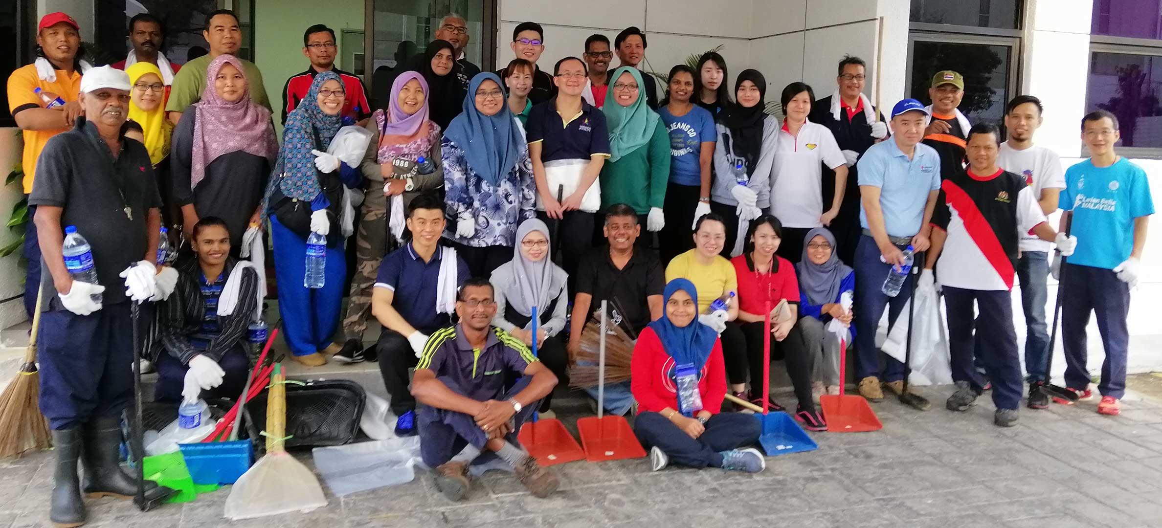 Gotong Royong at Texchem-Pack (M) Sdn Bhd