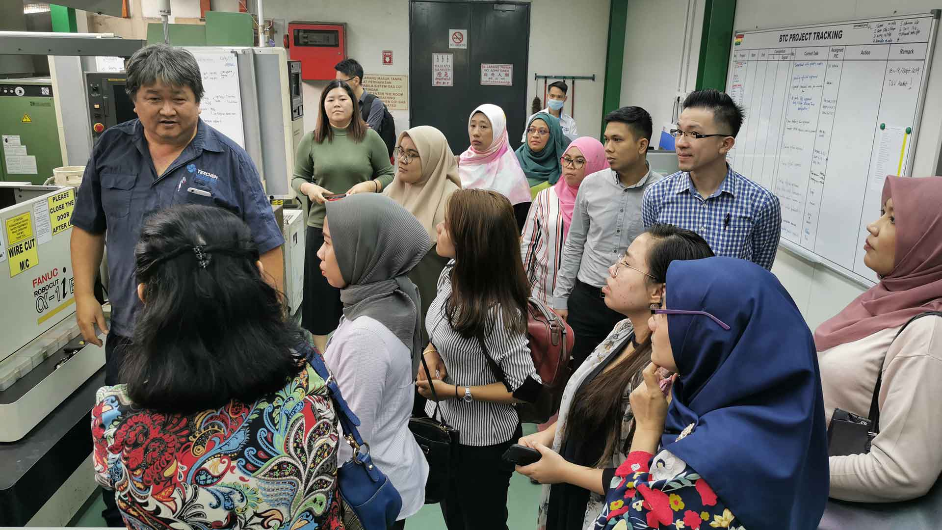 Inter-company visit to Texchem Life Sciences Sdn Bhd by Cultural Ambassador Committee