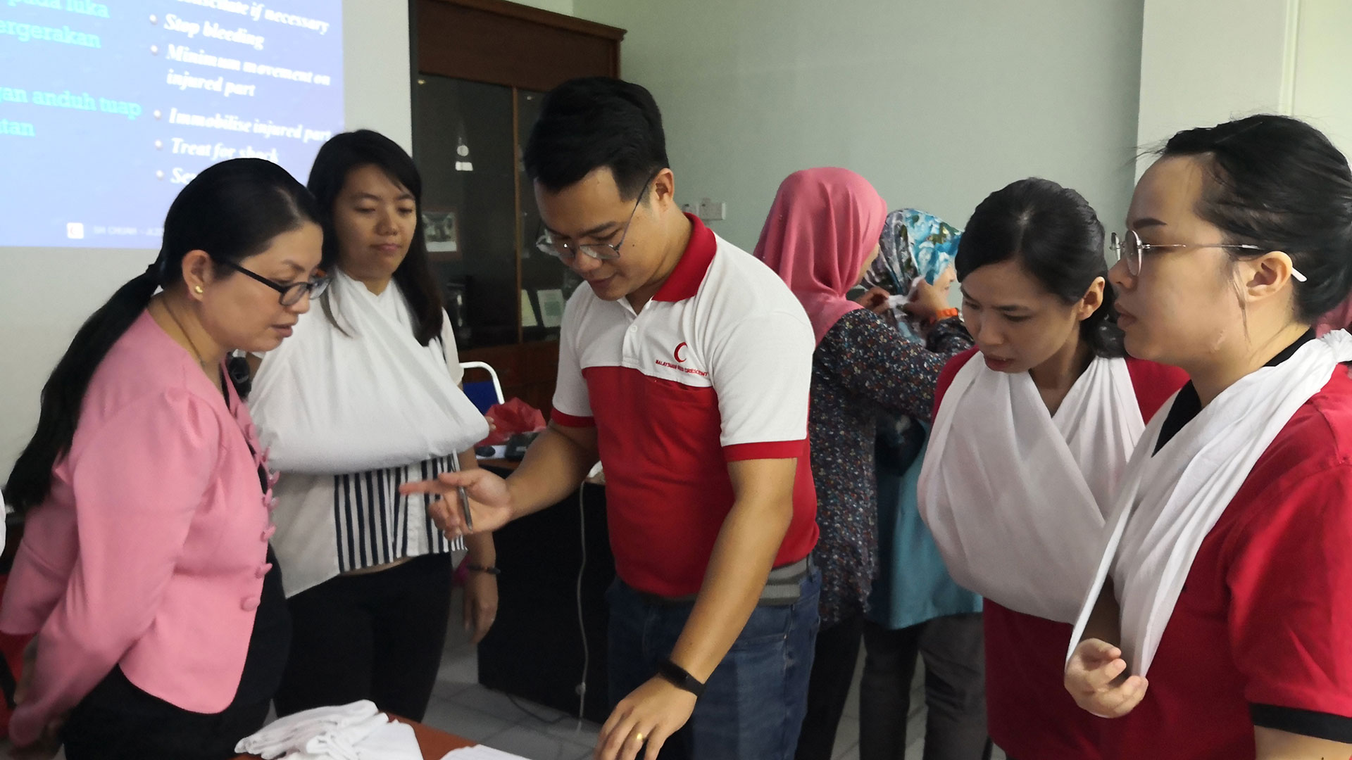 First Aid Class by Texchem Ladies' Club