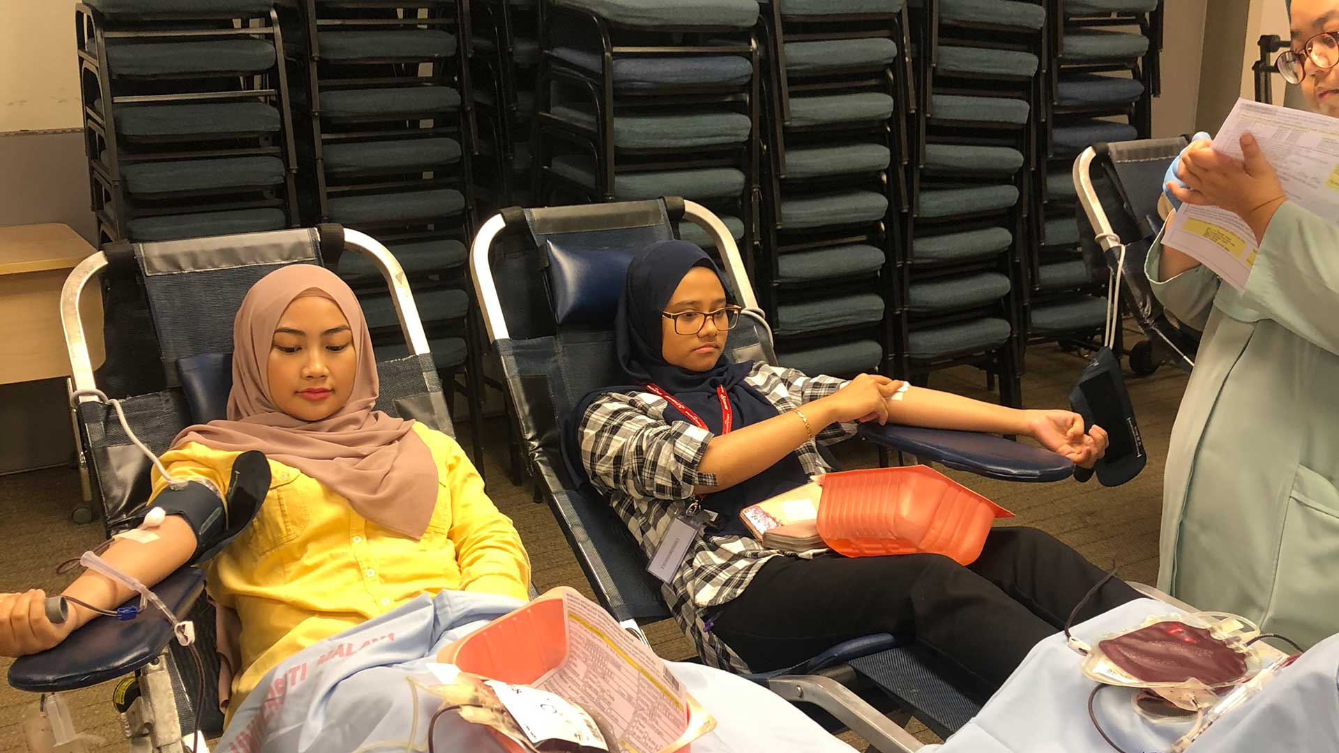 Blood Donation Drive on 1, 8, 22 October 2019